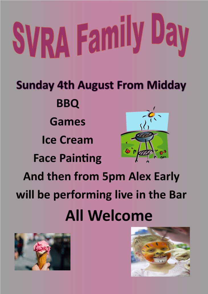 Today is SVRA Family Fun Day