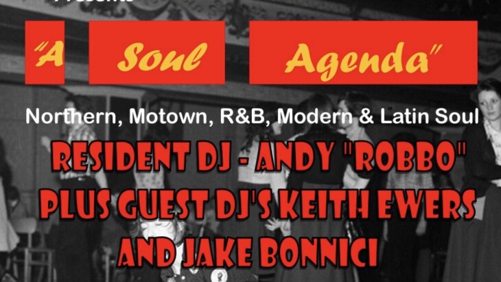 Northern Soul comes to Dartford Social Club...