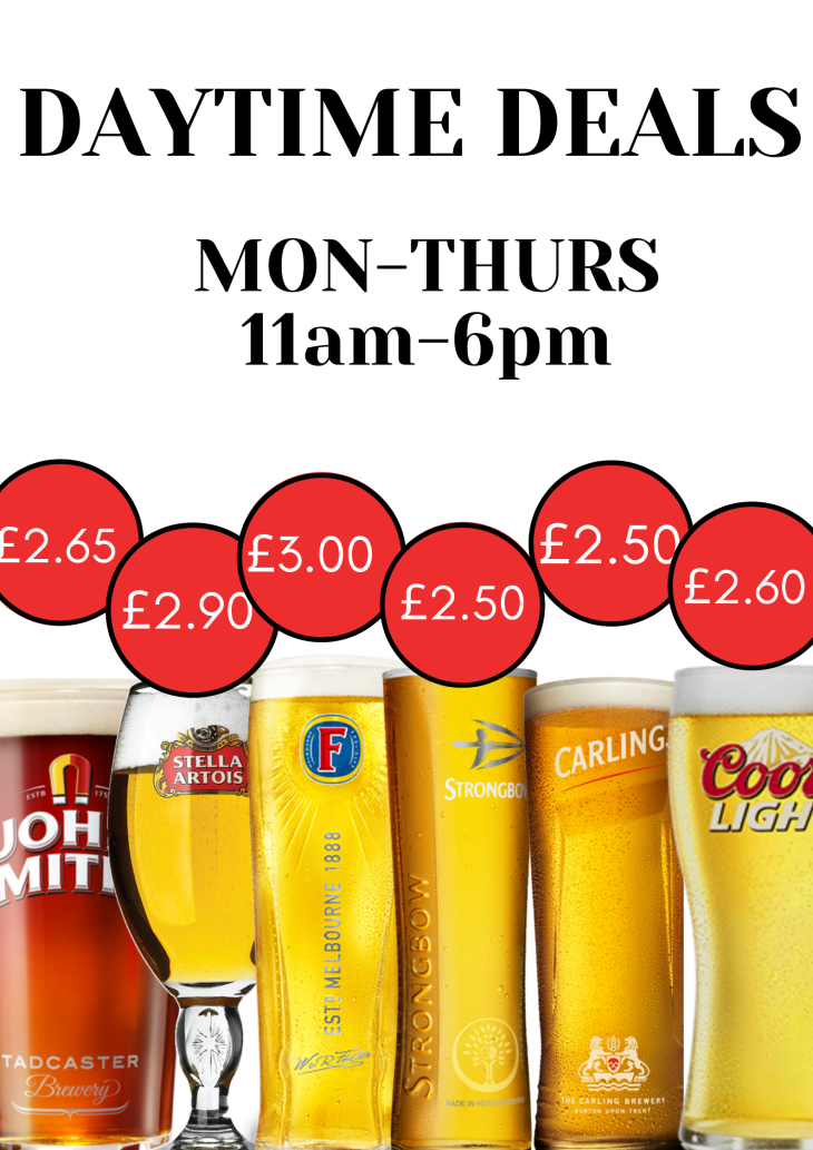 New drinks offers