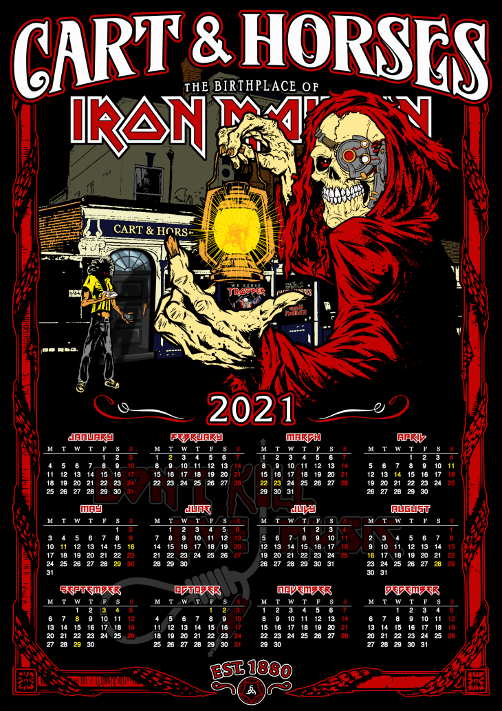 FREE link for the C&H Calendar 2021