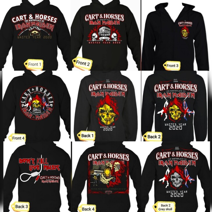 Cart & Horses Hoodies!