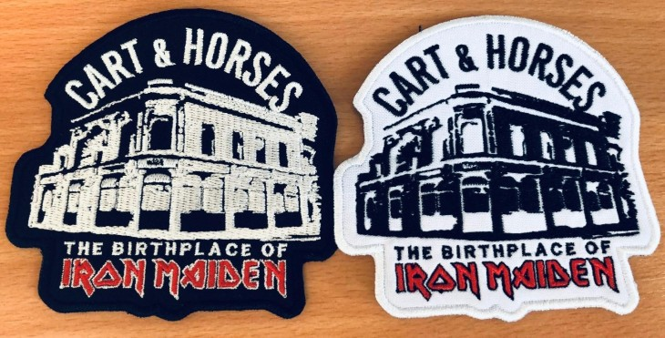 Sew on patches (Black or White)