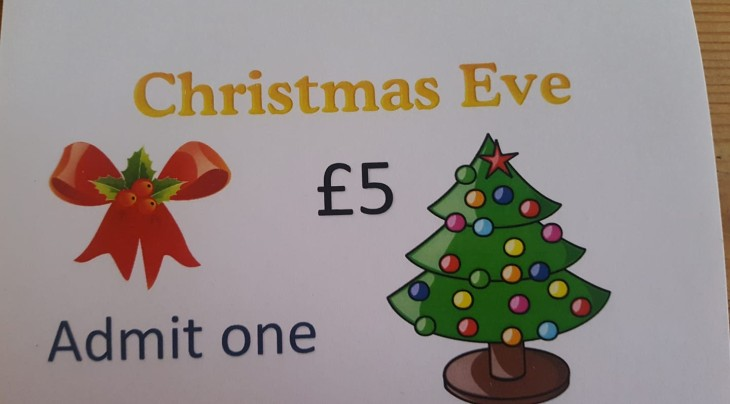 Christmas Eve Tickets Available