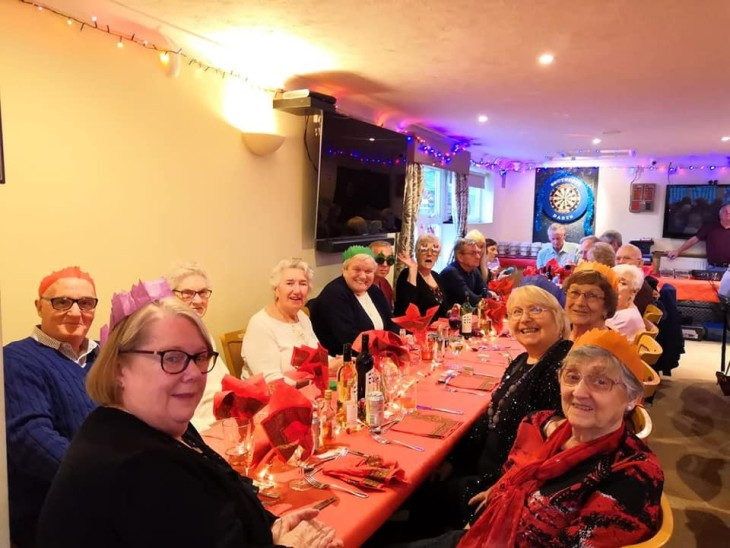 OAPS Christmas Lunch 2018