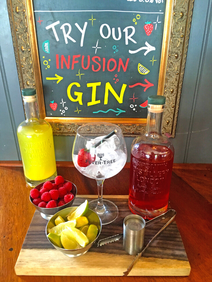 In House Infused Gins