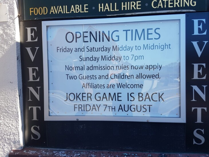 THE JOKER IS BACK TONIGHT!!