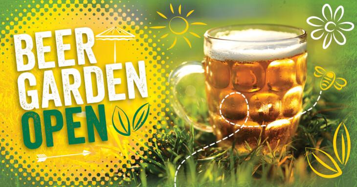 Beer Garden Reopening Day!!!