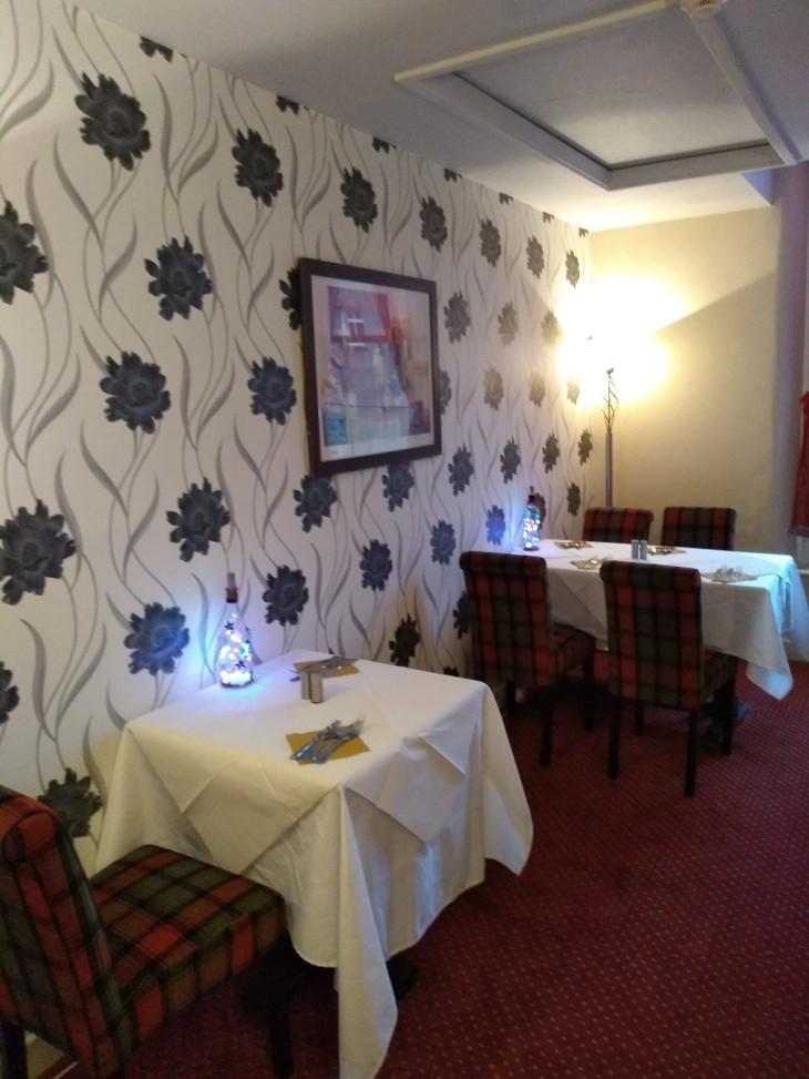 Upstairs restaurant now open!