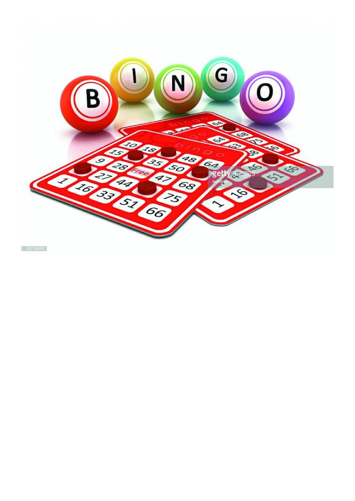 Bingo Sunday 19th July