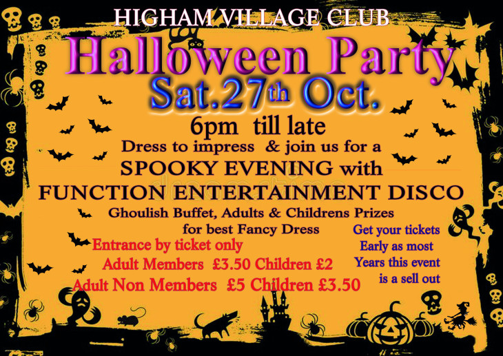 Halloween Night 27th October