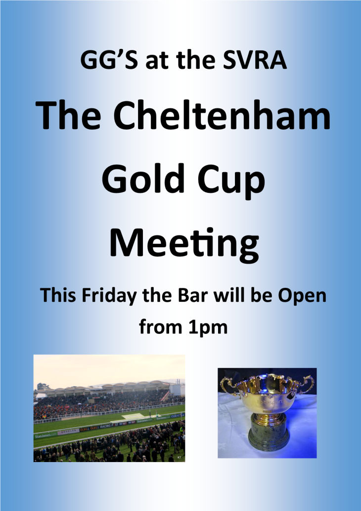 Cheltenham Gold Cup at the SVRA Club