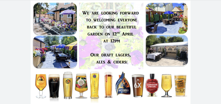 April 12th Reopening