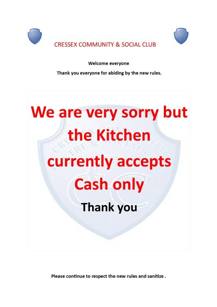 Kitchen payment advice June 2021