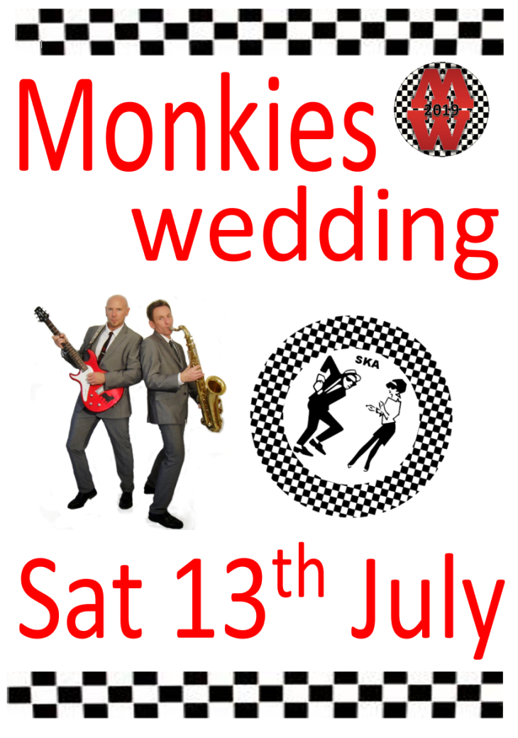 Those cheeky Monkies are back this weekend!