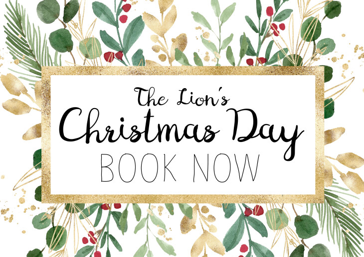 BOOK NOW for Christmas Day 2021