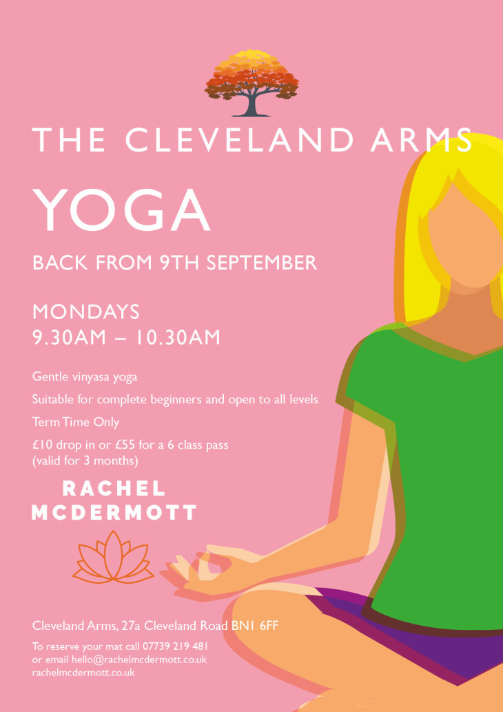Yoga is back!!
