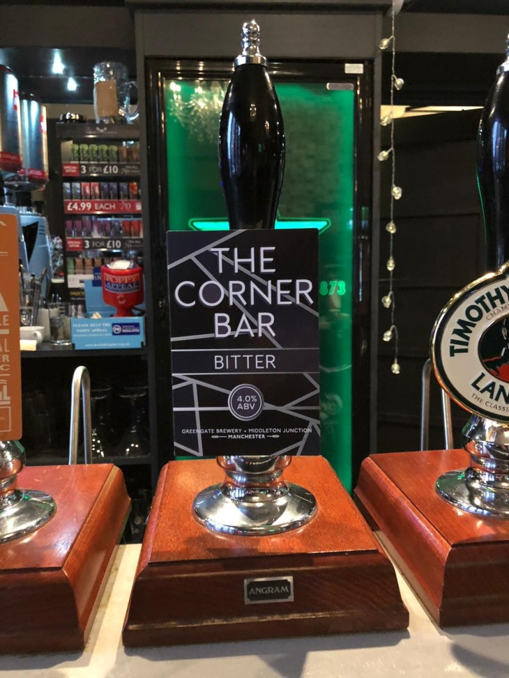 The Corner Bar Bitter is launched!