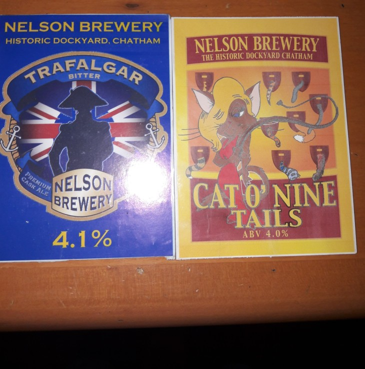 Two guest ales