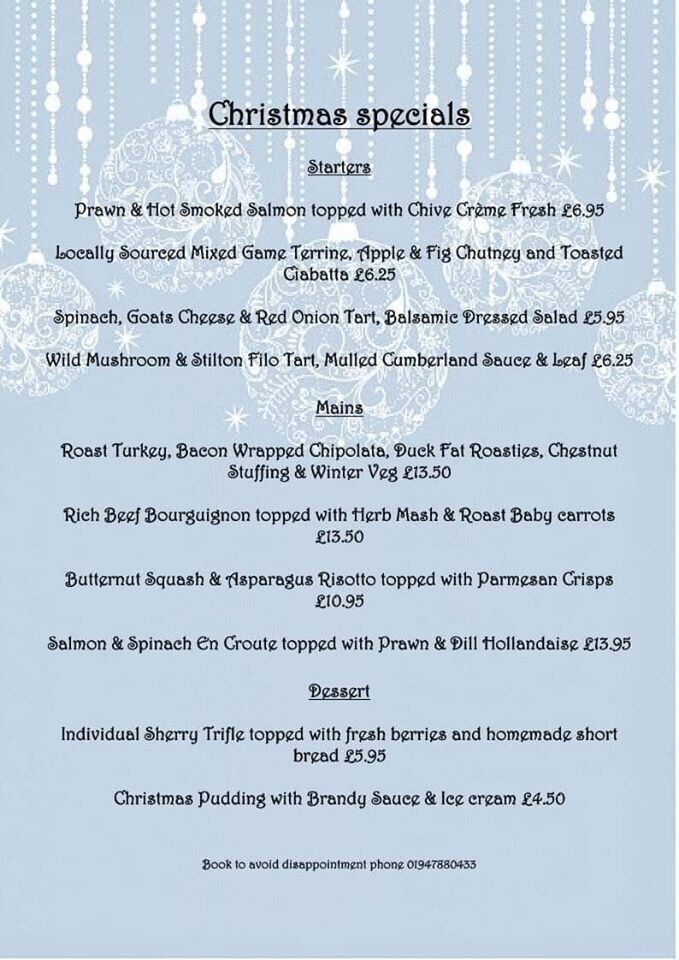Christmas specials going down a storm!