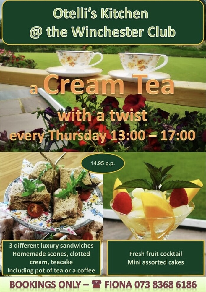 Cream Tea @ The Club