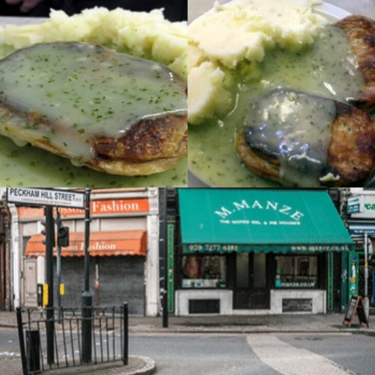 Last chance pie and mash orders
