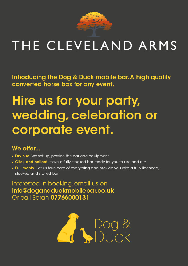 The Dog and Duck is launched!!