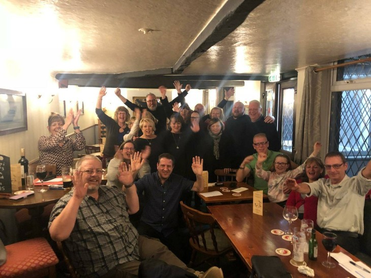 Quiz Night at The White Hart