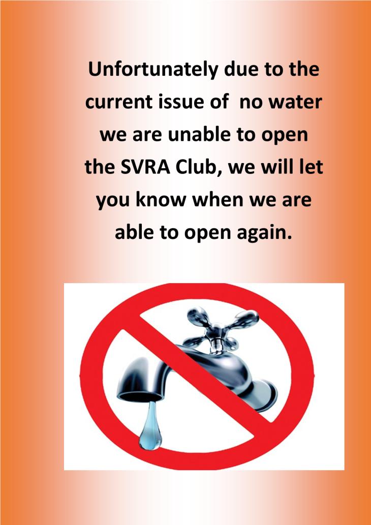 Temporary Club Closure