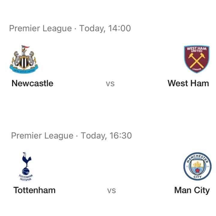 Premier League Matches Today