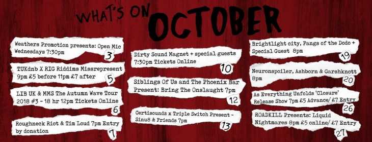 Whats On October