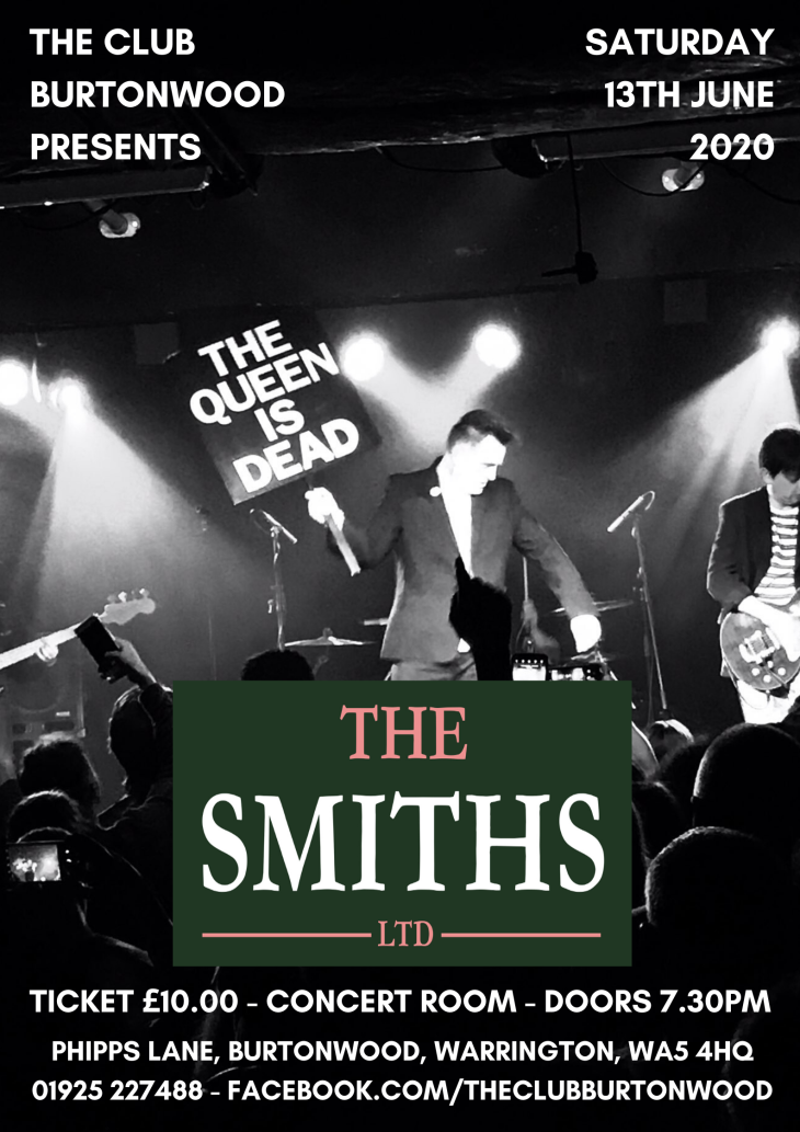 The Smiths Ltd: TICKETS NOW ON SALE