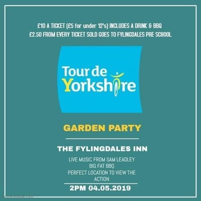 TOUR DE YORKSHIRE GARDEN PARTY