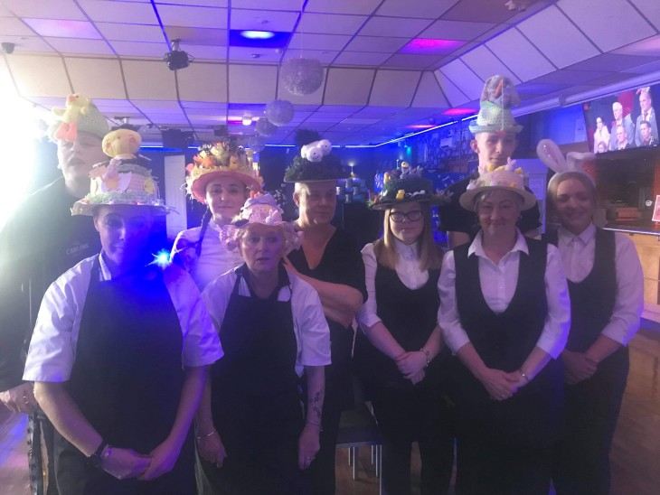 Vote for staff Easter bonnet