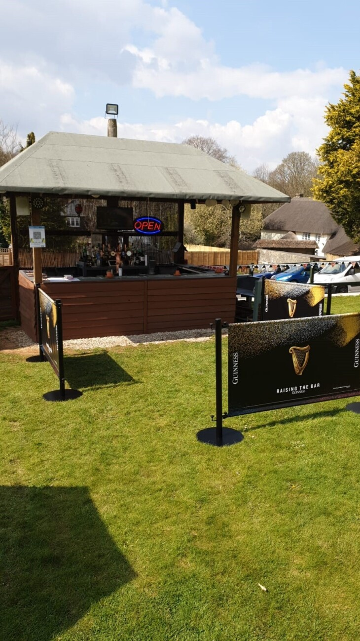 Welcome Back - Garden Bar Now Open!