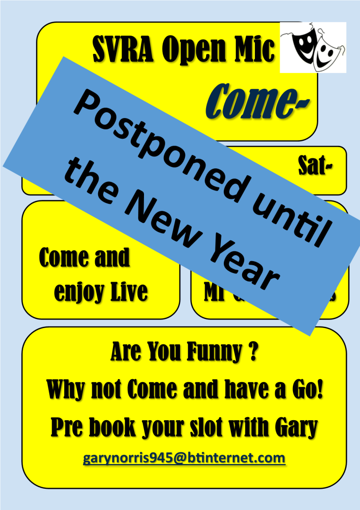 Comedy Night Postponed