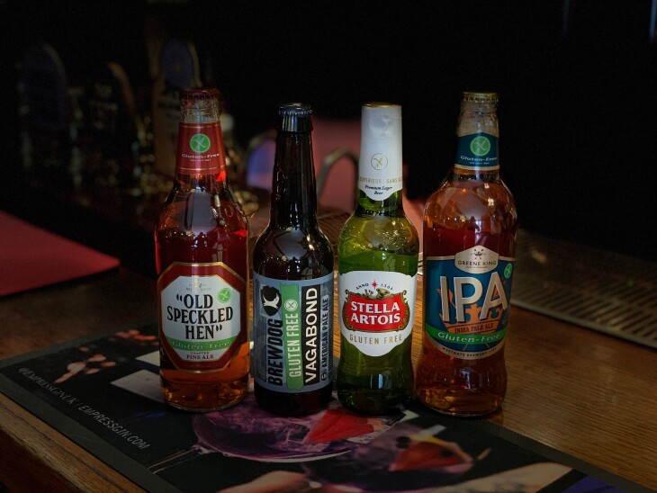 Gluten Free Beer Now Available