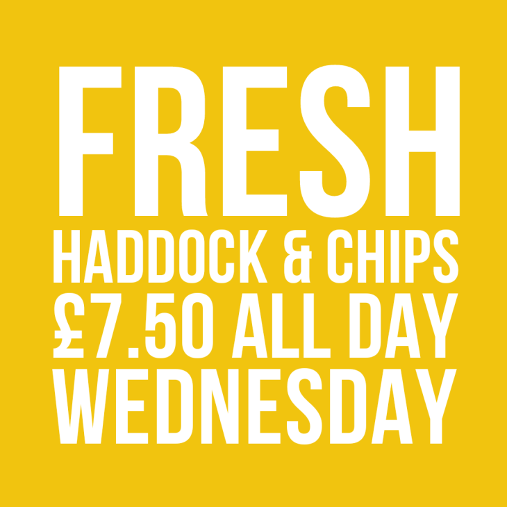 Fish & Chip Wednesdays