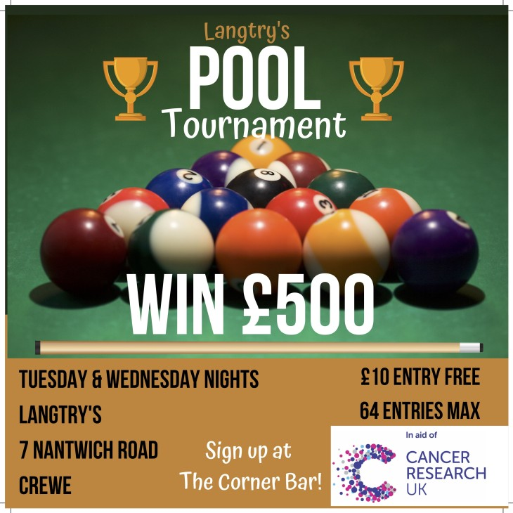 Langtry's Pool Tournament - WIN £500
