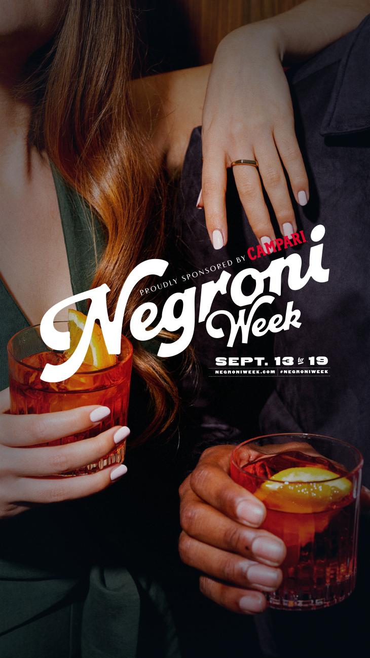 Negroni weekend!