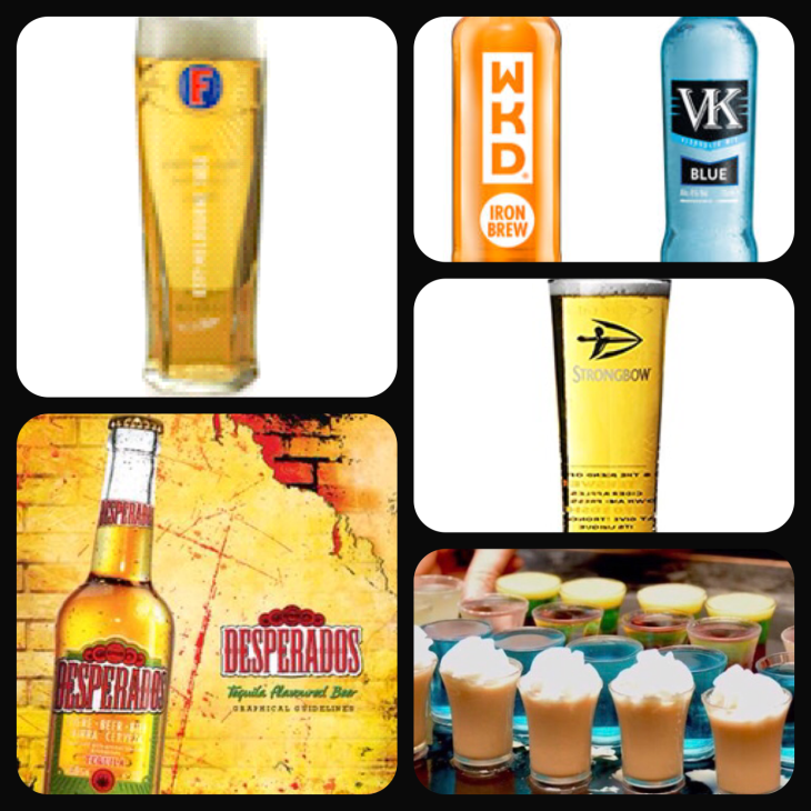 Drinks promotions.