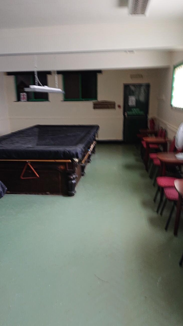 Snooker Room Refurbishment