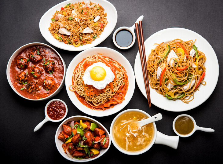 Indo-Chinese Menu (Golden Dragon)