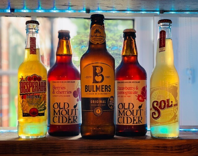 Our Bottle Range