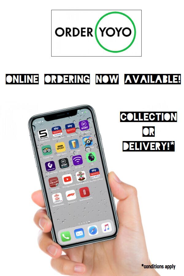 Order your food online!