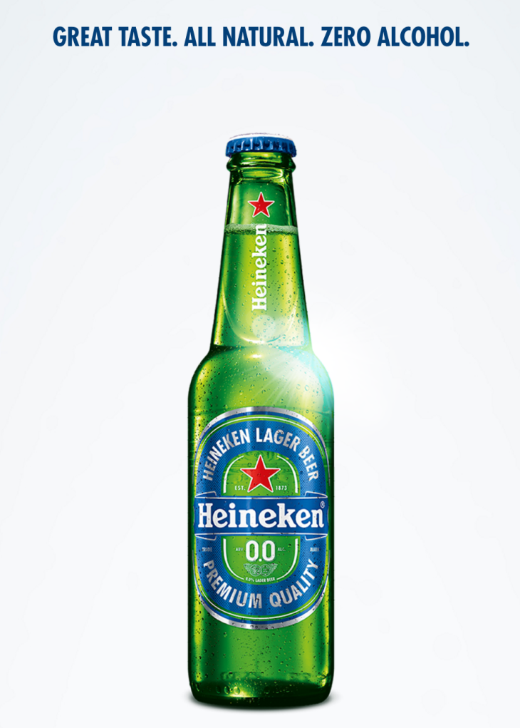 Introducing Heineken 0.0