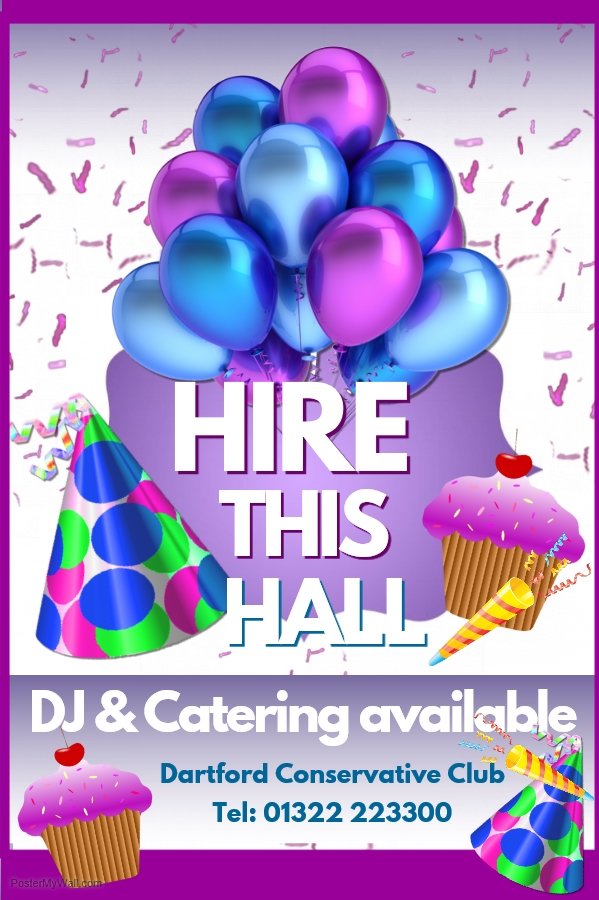HALL HIRE - SPECIAL OFFER