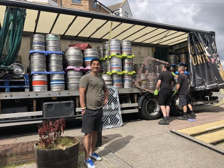 We have beer!