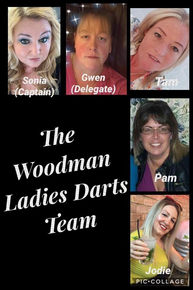 Ladies dart team