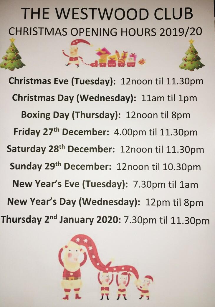 Christmas Club Times