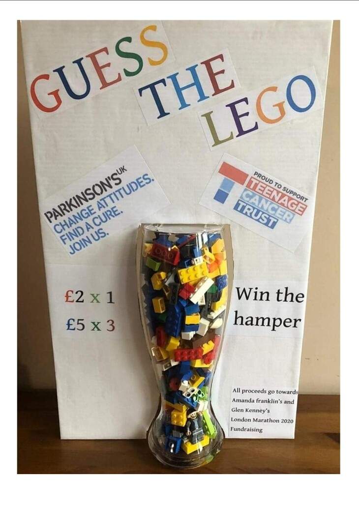 Guess The Lego for Charity